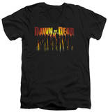 Dawn Of The Dead - Walking Dead V-Neck Shirts