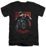 Dark Knight Rises - Batman & Bane V-Neck T-Shirt