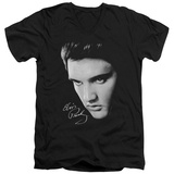 Elvis Presley - Face V-Neck T-Shirt