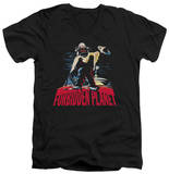 Forbidden Planet - Robby And Woman V-Neck T-Shirt