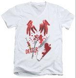 Dexter - Tools Of The Trade V-Neck V-Necks