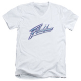 Flashdance - Logo V-Neck T-Shirt