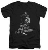 Elvis Presley - Elvis Has Left The Bldg V-Neck Shirts