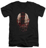 Dark Knight Rises - Bane Mask V-Neck T-shirts