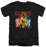 Elvis Presley - Vegas Remembered V-Neck T-shirts