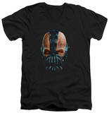 Dark Knight Rises - Painted Bane V-Neck T-Shirt