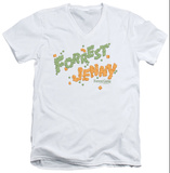 Forrest Gump - Peas And Carrots V-Neck T-shirts