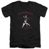 Elvis Presley - Viva Las Vegas Star V-Neck T-shirts