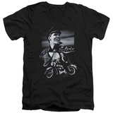 Elvis Presley - Motorcycle V-Neck T-shirts