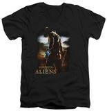 Cowboys & Aliens - Cowboy V-Neck T-shirts