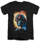 Justice League - Darkseid Is V-Neck T-Shirt