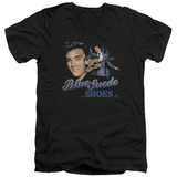 Elvis Presley - Blue Suede Shoes V-Neck Shirt