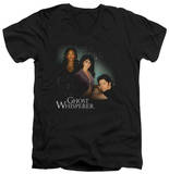 Ghost Whisperer - Diagonal Cast V-Neck T-Shirt