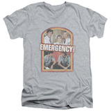 Emergency - Retro Cast V-Neck Shirts