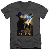 Cowboys & Aliens - The Gauntlet V-Neck T-shirts