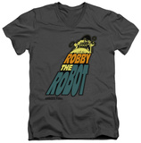 Forbidden Planet - Robby The Robot V-Neck T-shirts