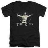 Elvis Presley - Ornate King V-Neck V-Necks