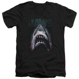 Jaws - Terror In The Deep V-Neck Shirts