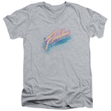 Flashdance - Spray Logo V-Neck Shirts