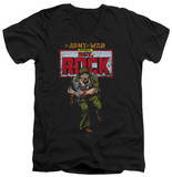 DC Comics - Sgt Rock V-Neck T-Shirt