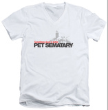 Pet Sematary - Logo V-Neck T-Shirt