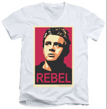 James Dean - Rebel Campaign V-Neck T-shirts