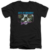 Galaxy Quest - Cute But Deadly V-Neck T-shirts