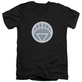 Green Lantern - White Symbol V-Neck V-Necks