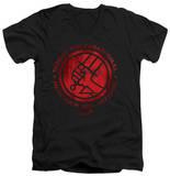 Hellboy II - BPRD Logo V-Neck Shirts
