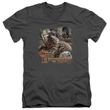 Labyrinth - Sir Didymus V-Neck T-shirts