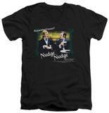 Monty Python - Nudge Nudge V-Neck T-Shirt