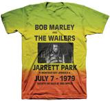 Bob Marley - Catch a Fire - Rasta Dye Concert T-Shirt