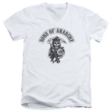 Sons Of Anarchy - Bloody Sickle V-Neck T-shirts
