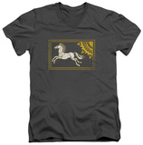 Lord Of The Rings - Rohan Banner V-Neck T-Shirt