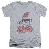 Major League - Vintage Logo V-Neck T-shirts