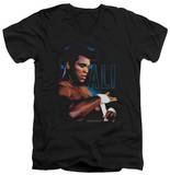 Muhammad Ali - Taping Up V-Neck T-shirts