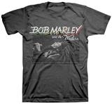 Bob Marley - Bob Marley-Marley Live Concert T-Shirt