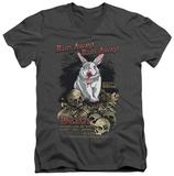Monty Python - Run Away V-Neck T-shirts