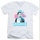 Miami Vice - Crockett V-Neck Shirt