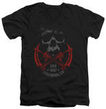 Sons Of Anarchy - Cross Guns V-Neck T-shirts