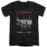 Pet Semetary - Cat Poster V-Neck T-shirts