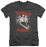 Shaun Of The Dead - Bash Em V-Neck Shirts