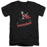 School Of Rock - Rockin V-Neck T-shirts