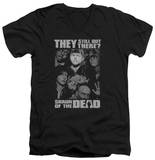 Shaun Of The Dead - Still Out There V-Neck Shirts