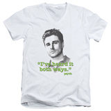 Psych - Both Ways V-Neck Shirt