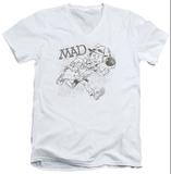 Mad Magazine - Sketch V-Neck T-shirts