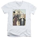 Popeye - Popeye Gothic V-Neck T-Shirt
