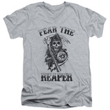 Sons Of Anarchy - Fear The Reaper V-Neck T-shirts