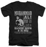 Muhammad Ali - Poster V-Neck Shirts
