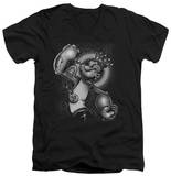 Popeye - Spinach King V-Neck Shirt